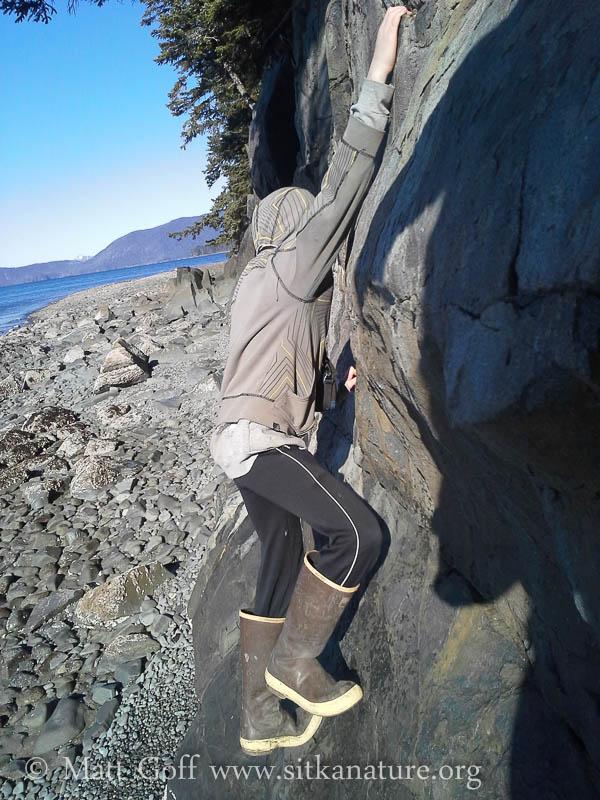 Connor Climbing