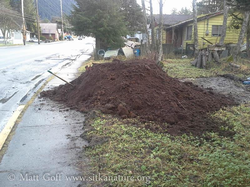 Freshly Dumped Dirt