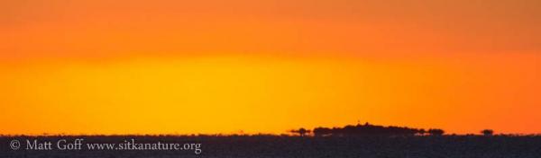 Kool Daa X'áat'i at Sunset