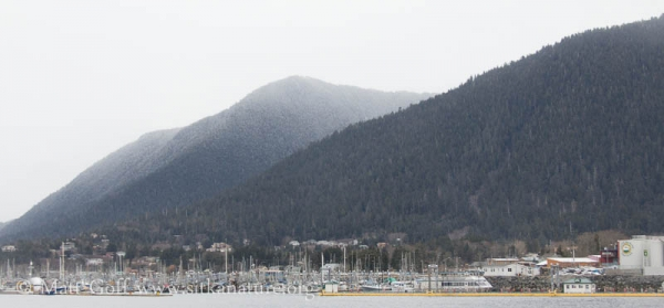 Harbor Mountain from the Channel