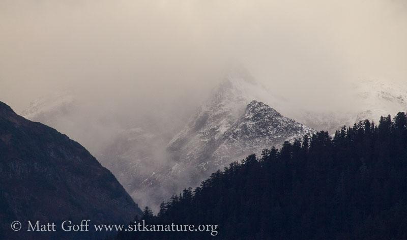 New Snow on Mountains