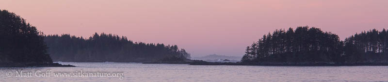 Morning Light over the Inner Islands