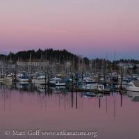 Crescent Harbor at Sunrise