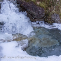 Stream Ice Formations