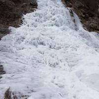 Frozen Bear Mountain Falls