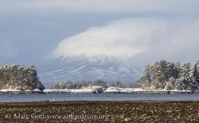 Mt. Edgecumbe in the Clouds