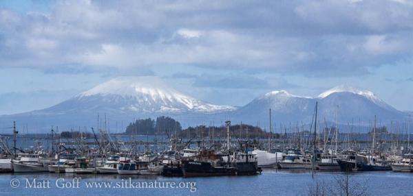 Eliason Harbor and Mt. Edgecumbe