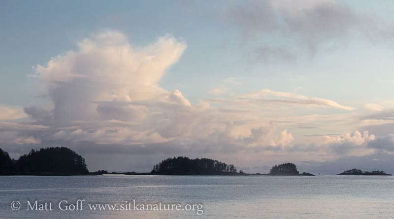 Evening Clouds over Sitka Sound