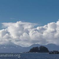 Mt. Edgecumbe Clouds Time Lapse