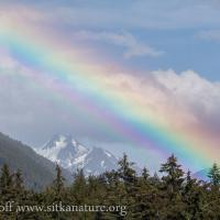 Rainbow over Cross Mountain