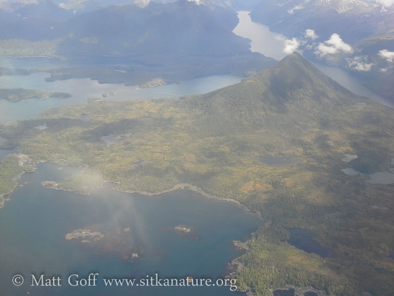 On Approach to Sitka from Jet