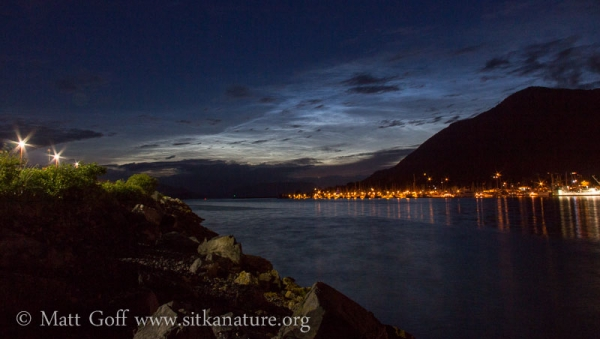 Noctilucent Clouds over the Channel