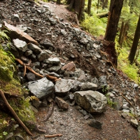 Herring Cove Trail Washout