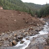 Toe of Landslide Slope