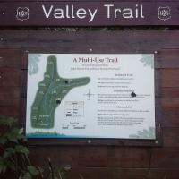 Trailhead of Starrigavan Valley Trail