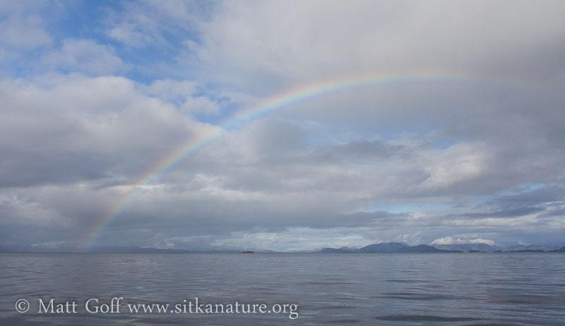 Rainbow over Sitka Sound