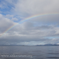 Rainbow over Sitka Sound