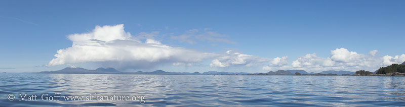 Mt. Edgecumbe Clouds