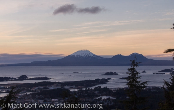 Mt. Edgecumbe from Verstovia Trail