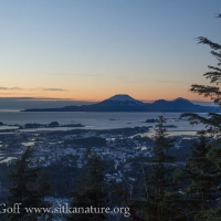 Sunset View of Mt. Edgecumbe
