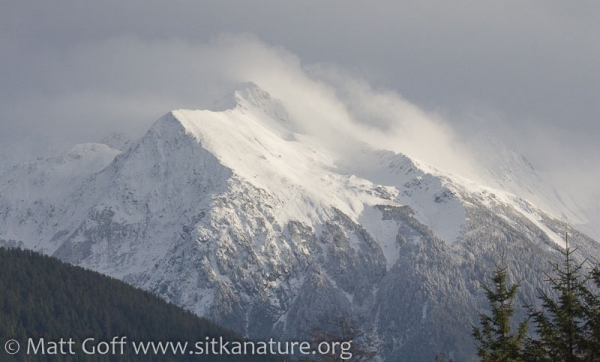 Snow on Bear Mountain