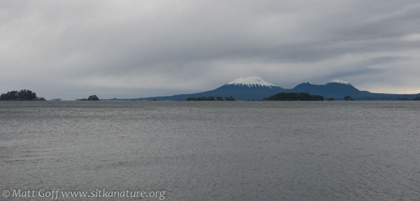 Mt. Edgecumbe from SeaMart