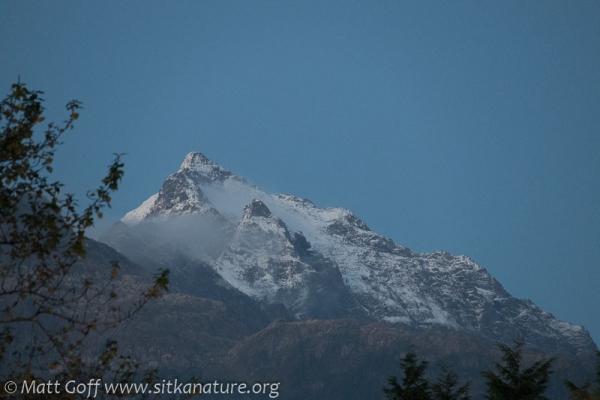 Snow on Peak 4900