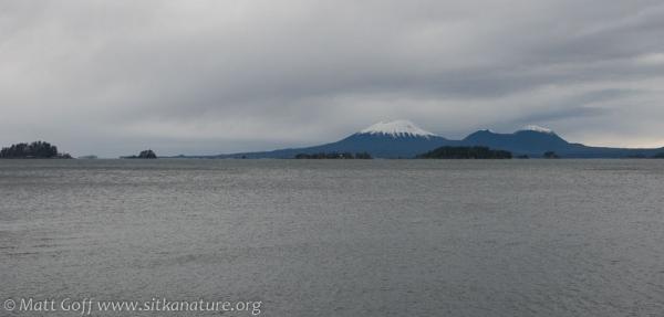 Mt. Edgecumbe from SeaMart
