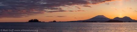 Mt. Edgecumbe Sunset