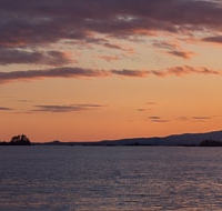 Mt. Edgecumbe Sunset
