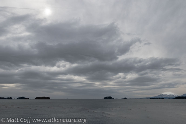 Clouds over Sitka Sound