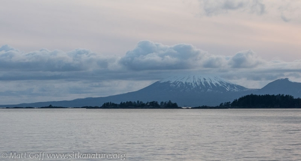 Mt. Edgecumbe with Clouds