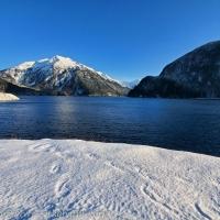Snowy Silver Bay