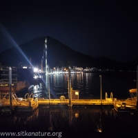Crescent Harbor Work at Night