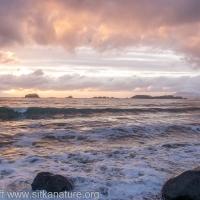 Sandy Beach Sunset