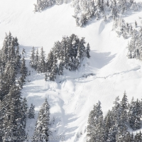 Possible Avalanche Initiation Zone