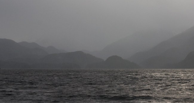 Stormy Weather on Crescent Bay