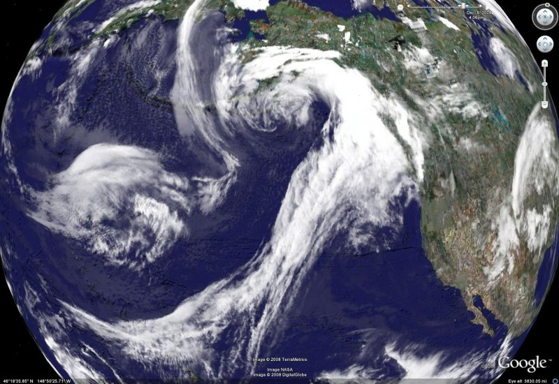 Clouds And Google Earth Sitka Nature - World satellite view of weather